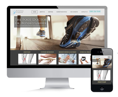 Podiatry Website Design