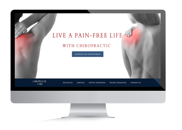 Chiropractic Website Design by Medical Site Solutions